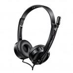 Fone de Ouvido Headset Multilaser Rapoo H120 - RA020 - Com Microfone - USB
