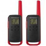 Radio Comunicador Motorola Talkabout T210BR - 32 Km - Vermelho e Preto