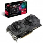 Placa de Vídeo Asus Radeon RX 570 ROG-STRIX-RX570-O8G-GAMING - 8GB 256 bits GDDR5 - PCI-Express 3.0
