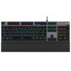 Teclado Gamer Mecânico Philips SPK8614/00 - RGB - Padrão Americano - USB