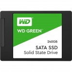 "SSD 2.5"" 240GB Western Digital Green WDS240G2G0A - Leituras 545MB/s - SATA 6Gb/s"