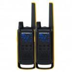 Radio Comunicador Motorola Talkabout T470BR - 35 Km - Amarelo e Preto