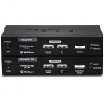 Kit extensor KVM TRENDnet TK-EX4 - USB - Via cabo UTP de até 100m