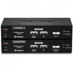 Kit extensor KVM TRENDnet TK-EX4 - USB - Via cabo UTP de até 100 Metros