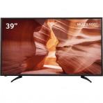 TV 39'' DLED Multilaser TL028 - 1366 x 768 - 2 HDMI - 1 USB - Conversor Digital Externo