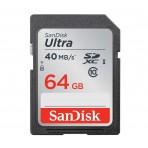 Cartão de memória SanDisk Ultra Classe 10 SDXC - 64GB