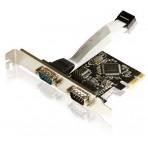 Placa PCI Express Comtac 9049 - 2 portas Seriais