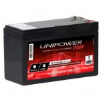 Bateria Selada Unipower UP1270SEG - 12V 7AH - F187