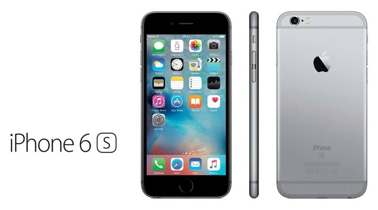 Smartphone Apple iPhone 6S - Tela 4,7 16GB 4G - Cinza Espacial