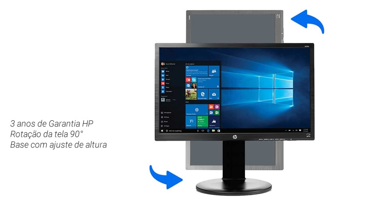 Monitor HP V225HZ
