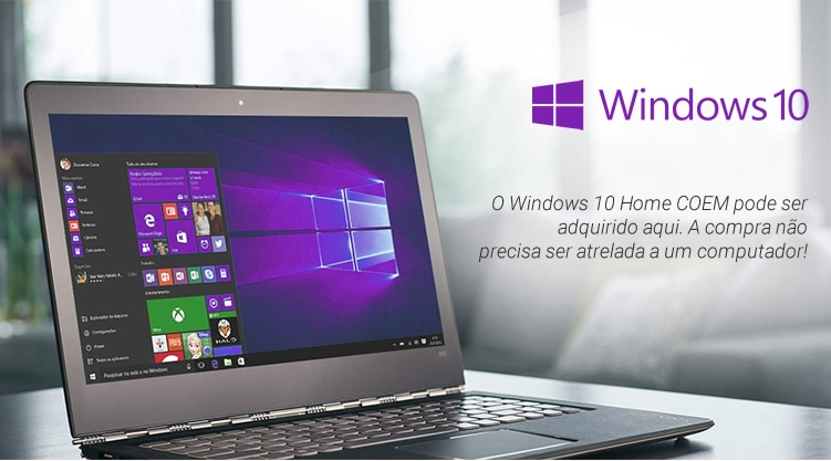Microsoft Windows 10 Home 64 Bits - OEM
