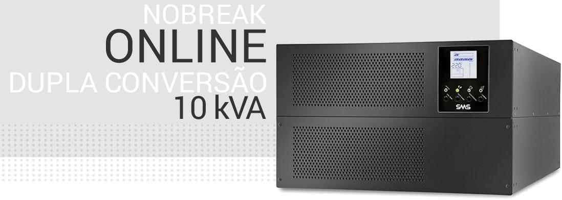 Nobreak OnLine dupla conversão de 6kVA